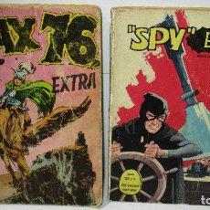 Cómics: AYAX 76 Nº 1 DE BOIXHER + SPY Nº 2 DE FERMA. Lote 176517352