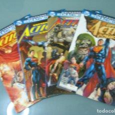 Cómics: SUPERMAN ACTION COMICS. UNIVERSO RENACIMIENTO. DEL 1 AL 4. ECC . Lote 176786569