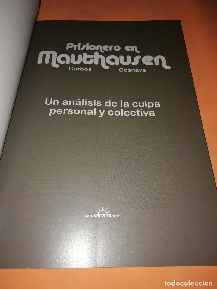 Cómics: SORDO. PRISIONERO EN MAUTHAUSEN. TORTAS FRITAS DE POLENTA. TRES TOMOS .EDICIONS DE PONENT. - Foto 9 - 176834902