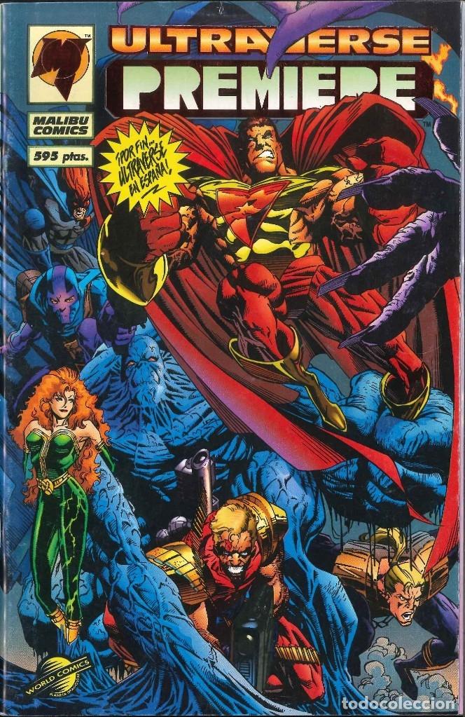 ULTRAVERSE PREMIERE WORLD CÓMICS MALIBU CÓMICS (Tebeos y Comics - Comics otras Editoriales Actuales)