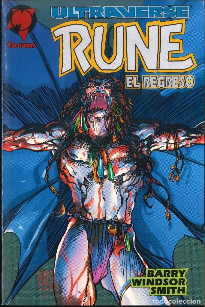 ULTRAVERSE RUNE EL REGRESO FÓRUM (Tebeos y Comics - Comics otras Editoriales Actuales)