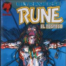 Cómics: ULTRAVERSE RUNE EL REGRESO FÓRUM. Lote 176857373