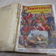 Cómics: SINMIEDO. EL DEMONIO DE LOS MARES, EDITORIAL EL GATO NEGRO DE BRUGUERA, AÑOS 20, COMPLETA 50 NÚMEROS. Lote 176882573