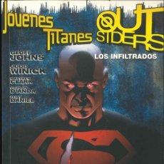 Cómics: JOVENES TITANES OUTSIDERS LOS INFILTRADOS PLANETA DC. Lote 176896928