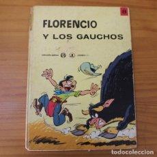 Cómics: EPITOM 8 FLORENCIO Y LOS GAUCHOS, BERCK Y ACAR. JAIMES LIBROS 1970 TAPA DURA. Lote 176921328