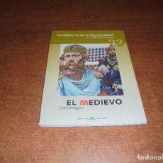 Cómics: LA HISTORIA DE LA HUMANIDAD (ZOPPI, E.) 23 EL MEDIEVO. CARLOMAGNO.. Lote 176952129