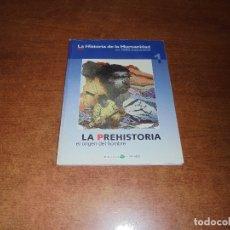 Cómics: LA HISTORIA DE LA HUMANIDAD (ZOPPI, E.) 1 LA PREHISTORIA. EL ORIGEN DEL HOMBRE.. Lote 176952252