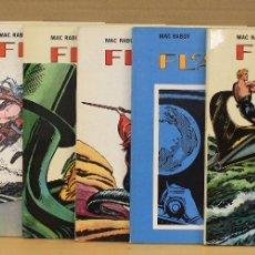 Cómics: FLASH GORDON. MAC RABOY. COMPLETA. 8 VOLUMENES. EDICIONES B.O. 1978. Lote 177132095