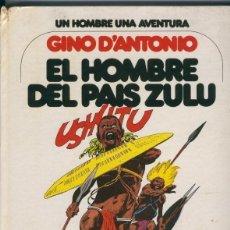 Cómics: GRIJALBO: UN HOMBRE, UNA AVENTURA NUMERO 04: EL HOMBRE DEL PAIS ZULU. Lote 55459185