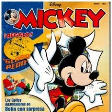 Comics: MICKEY - NÚMEROS 1,2,3,4 Y 5 - RBA EDICIONES,2002. LEER. Lote 177207999
