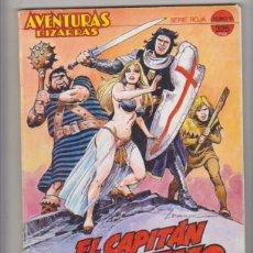 Cómics: EL CAPITÁN TRUENO. AVENTURAS BIZARRAS SERIE ROJA. TOMO 1. CONTIENE LOS EJEMPLARES DEL 1 AL 5. FORUM. Lote 177252298