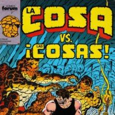Cómics: LA COSA. FORUM 1989. Nº 11. Lote 177252497