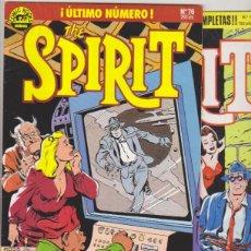 Cómics: THE SPIRIT. NORMA 1988. COLECCIÓN COMPLETA (76 EJEMPLARES). Lote 177252507
