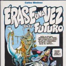 Cómics: CARLOS GIMÉNEZ. ÉRASE UNA VEZ EN EL FUTURO. GLENAT. TAPAS DURAS. Lote 177252940