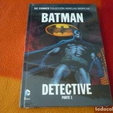 Cómics: BATMAN DETECTIVE PARTE 1 DC NOVELAS GRAFICAS 35 ¡PRECINTADO! TAPA DURA ECC. Lote 177336352