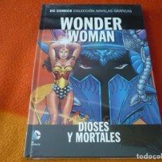 Cómics: WONDER WOMAN DIOSES Y MORTALES DC NOVELAS GRAFICAS 34 ¡PRECINTADO! TAPA DURA ECC. Lote 177336387