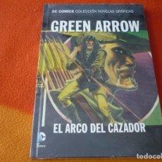 Comics: GREEN ARROW EL ARCO DEL CAZADOR DC NOVELAS GRAFICAS 33 ( COOKE BRUBAKER ) ¡PRECINTADO! TAPA DURA ECC. Lote 177336412