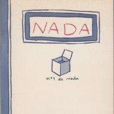 Cómics: JUANJO SÁEZ, MARC PIÑOL. NADA. LE DOUANIER, 2000. Lote 177449937