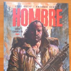 Cómics: HOMBRE - TOMO 2 INTEGRAL - JOSE ORTIZ / ANTONIO SEGURA - TAPA DURA - EDT (N2). Lote 177571005