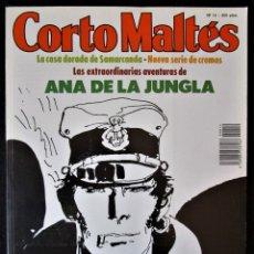 Cómics: CORTO MALTÉS Nº 14 - CONTIENE 8 CROMOS - Y 9ª PARTE DE LA CASA DORADA DE SAMARCANDA - ''MUY BUEN EST. Lote 177634893
