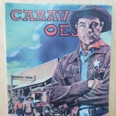 Comics: CARAVANA OESTE - Nº 63, UN FANFARRÓN - ED. VILMAR. Lote 177640014
