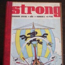 Cómics: STRONG - TOMO DE 15 NÚMEROS - PERFECTO ESTADO. Lote 177640305