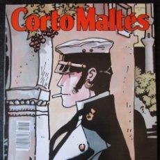 Cómics: CORTO MALTES Nº 11 - CONTIENE 8 CROMOS Y 6ª PARTE DE LA CASA DORADA DE SAMARCANDA ''BUEN ESTADO''. Lote 177642364