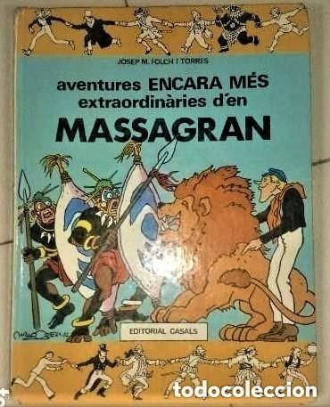 AVENTURES ENCARA MES EXTRAORDINARIES D'EN MASSAGRAN (Tebeos y Comics Pendientes de Clasificar)