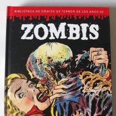 Cómics: ZOMBIS - BIBLIOTECA DE CÓMICS DE TERROR DE LOS AÑOS 50 TOMO II - DIÁBOLO EDICIONES. Lote 177792168
