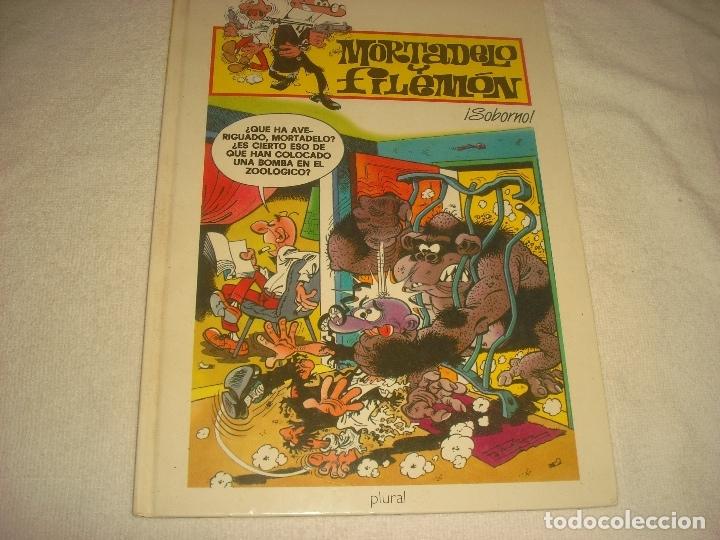 MORTADELO Y FILEMON. SOBORNO , ED. PLURAL 2000. (Tebeos y Comics Pendientes de Clasificar)