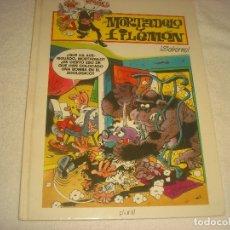 Cómics: MORTADELO Y FILEMON. SOBORNO , ED. PLURAL 2000.. Lote 177835992