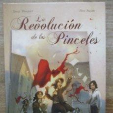 Cómics: LA REVOLUCIÓN DE LOS PINCELES - JOSEP BUSQUET Y PERE MEJAN - DOLMEN. Lote 177896118
