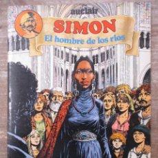 Cómics: SIMON EL HOMBRE DE LOS RIOS - COLECCION COMPLETA - 2 TOMOS - DISTRINOVEL. Lote 178051815