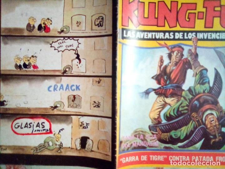 Cómics: KUNG FÚ-Nº 40 -RECUERDA CUERVO...-1978-JORDI BERNET- JOSEP GUAL-AMADOR-BUENO-RARO-LEAN-2066 - Foto 2 - 178053753