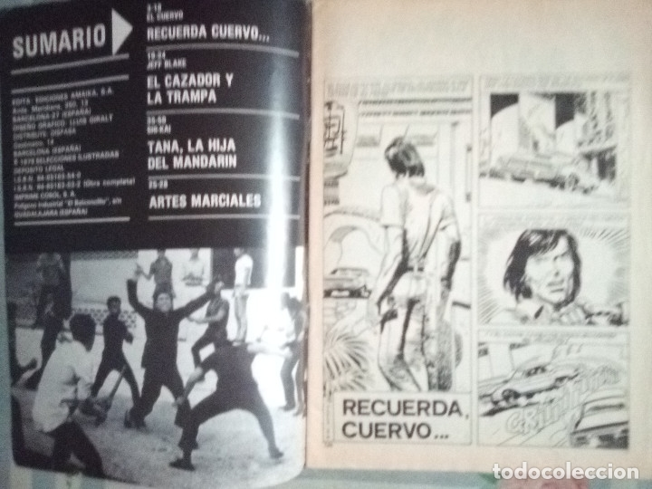 Cómics: KUNG FÚ-Nº 40 -RECUERDA CUERVO...-1978-JORDI BERNET- JOSEP GUAL-AMADOR-BUENO-RARO-LEAN-2066 - Foto 3 - 178053753