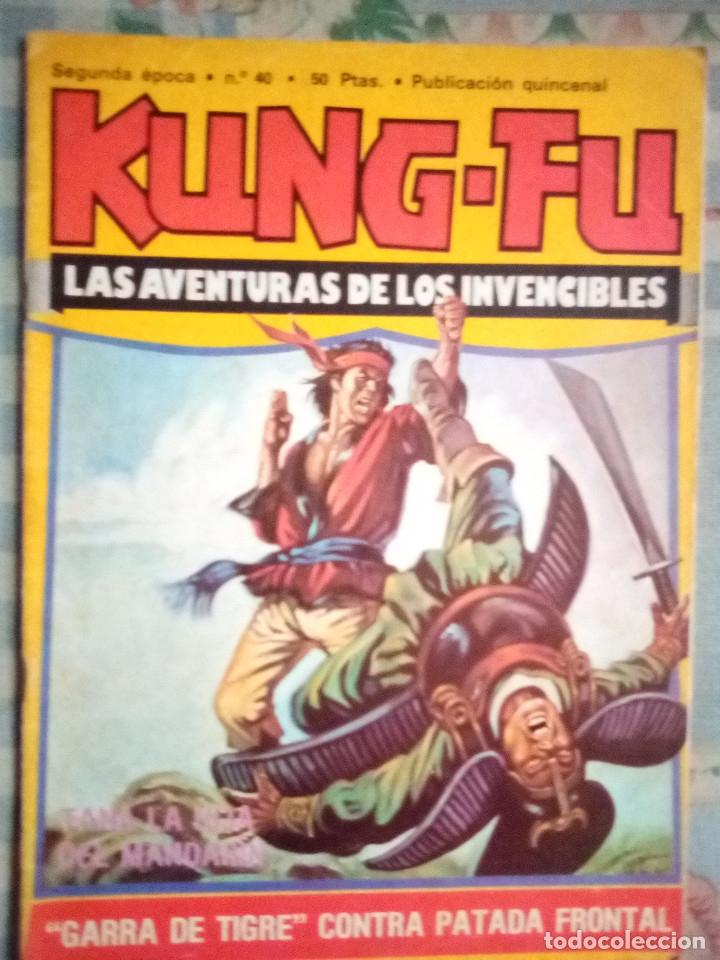 KUNG FÚ-Nº 40 -RECUERDA CUERVO...-1978-JORDI BERNET- JOSEP GUAL-AMADOR-BUENO-RARO-LEAN-2066 (Tebeos y Comics - Comics otras Editoriales Actuales)