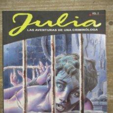 Cómics: JULIA CRIMINOLOGA - EN LA MENTE DEL MONSTRUO - Nº 2 - ALETA EDICIONES. Lote 178099592
