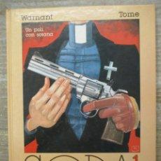 Cómics: SODA - Nº 1 - UN POLIC CON SOTANA - TOME - EDICIONES B. Lote 178130133