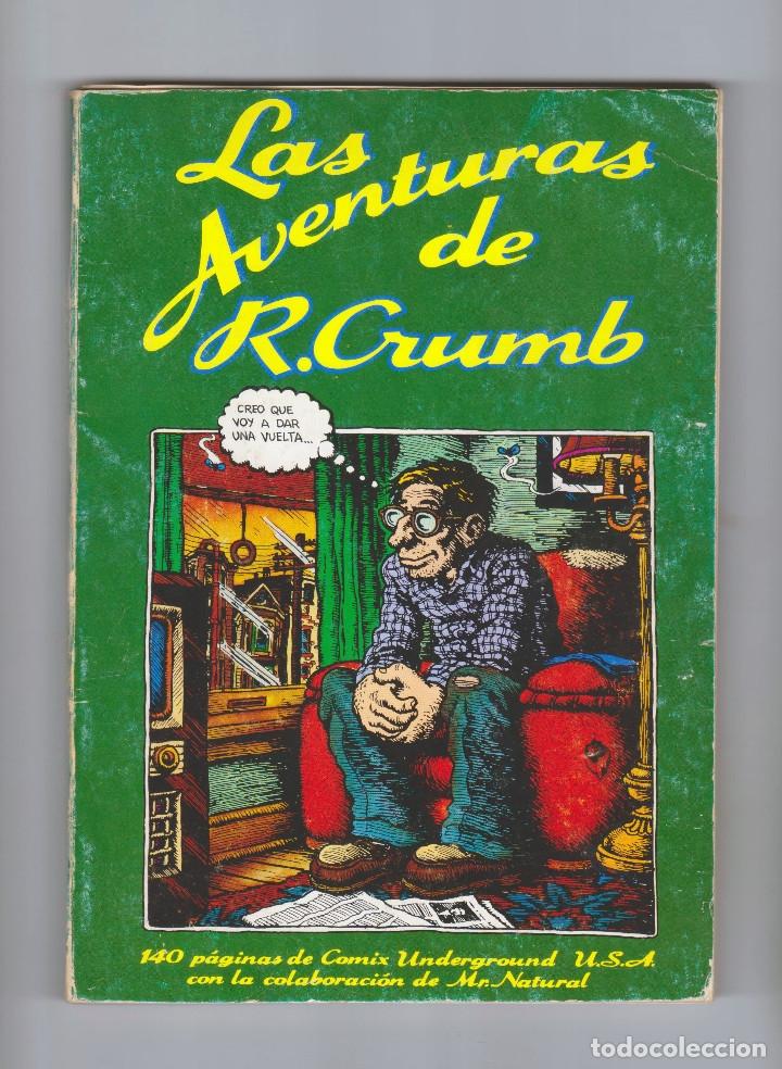 LAS AVENTURAS DE ROBERT CRUMB - ROBERT CRUMB - PASTANAGA SERIES - AÑO 1977 (Tebeos y Comics - Comics otras Editoriales Actuales)
