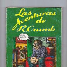 Comics: LAS AVENTURAS DE ROBERT CRUMB - ROBERT CRUMB - PASTANAGA SERIES - AÑO 1977. Lote 178138284