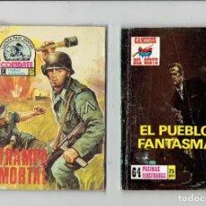 Cómics: LOTE 32 NOVELAS GRAFICAS OESTE,POLICIACAS,BELICAS,AVENTURAS Y CIENCIA FICCION. Lote 178161713