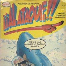 Cómics: LOTE DE 9 COMICS, AL ATAQUE - TRINCA - EL JUEVES. Lote 178180140