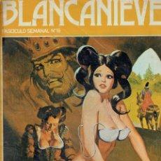 Cómics: 6 COMICS EROTICOS BLANCANIEVES AÑO 1977 N,42, 18,38,17,25 Y 19. Lote 178181922