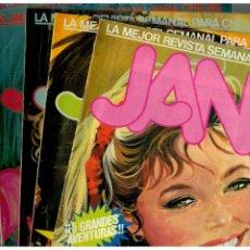 Fumetti: JANA. LOTE DE 8 NºS.- 1-7-10-11-12-13-14 Y 36. SARPE,1983. BUENOS.. Lote 178216603