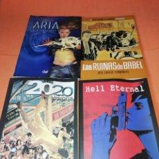 Cómics: ARIA Nº 1. 2020 VISIONS Nº 1.HELL ETERNAL Y LAS RUINAS DE BABEL. NO SUELTOS.. Lote 178259801