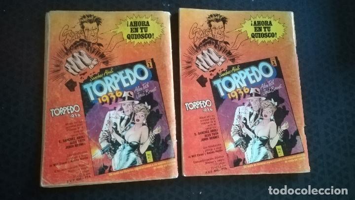 Cómics: K.O. COMICS Nº 3. Will Eisner, Bogey y Nº 2 AÑOS 80 FRANK CAPPA - BOGEY, Alex Toth, Jose Ortiz - Foto 2 - 178317318