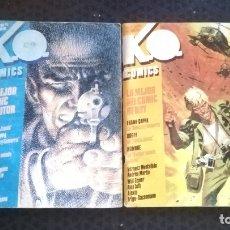 Cómics: K.O. COMICS Nº 3. WILL EISNER, BOGEY Y Nº 2 AÑOS 80 FRANK CAPPA - BOGEY, ALEX TOTH, JOSE ORTIZ. Lote 178317318