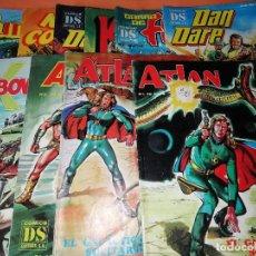 Cómics: COMICS DS EDITORS S. A. LOTE DE 11 EJEMPLARES. BUEN ESTADO EN GENERAL. NO SUELTOS.. Lote 178345681
