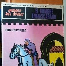 Cómics: EL HOMBRE ENMASCARADO HEROES DEL COMIC 63. Lote 178448273