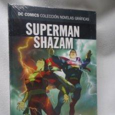 Cómics: SUPERMAN SHAZAM, DC COMICS COL NOVELAS GRÁFICAS N12, ED SALVAT, NUEVO DE KIOSCO, VER FOTOS. Lote 178572010